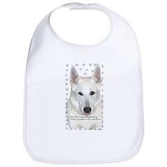 White German Shepherd Dog - A Bib