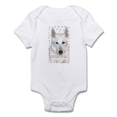 White German Shepherd Dog - A Infant Creeper