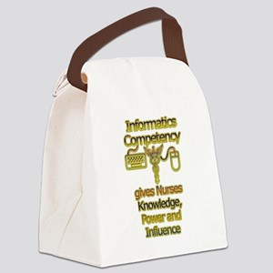 Informatics Competency Canvas Lunch Bag