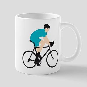 evolution bicycle racer Mug