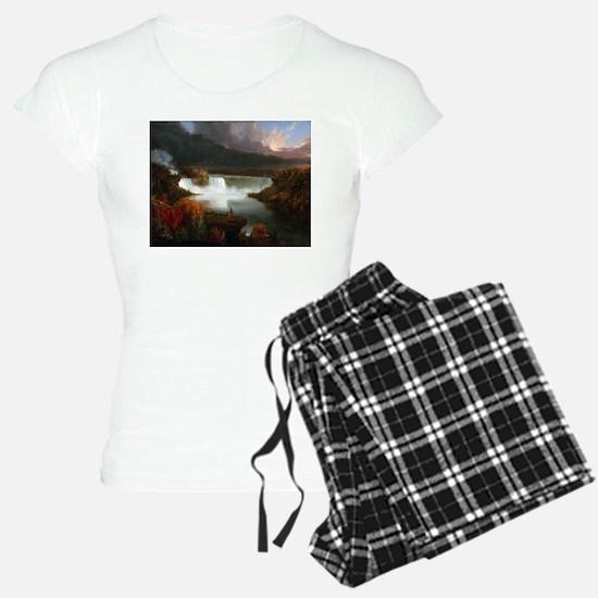 Thomas Cole Niagara Falls Pajamas