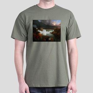 Thomas Cole Niagara Falls Dark T-Shirt