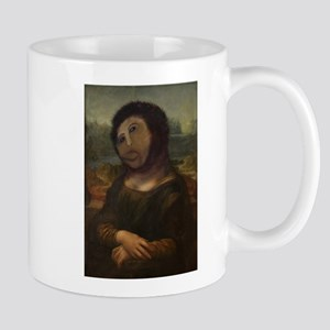 restored Mona Lisa Mug