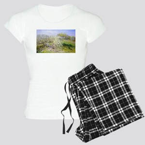 Claude Monet Apple Trees Women's Light Pajamas