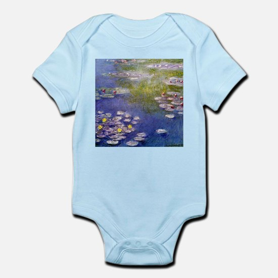 Monet Nympheas at Giverny Infant Bodysuit