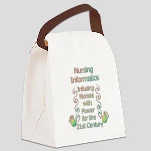 NI Power Canvas Lunch Bag
