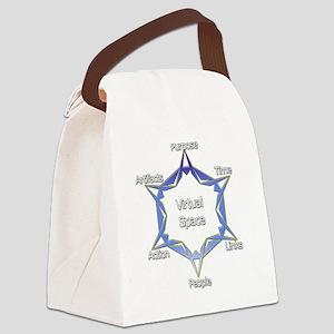 Virtual Space Canvas Lunch Bag