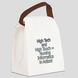 High Tech Canvas Lunch Bag