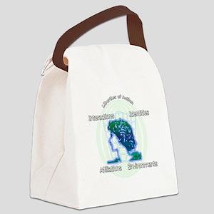 Virtual Social Networks Canvas Lunch Bag