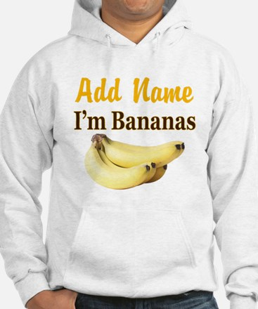 I LOVE BANANAS Jumper Hoody