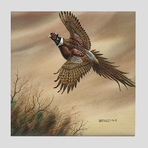 Pheasant Tile Coaster