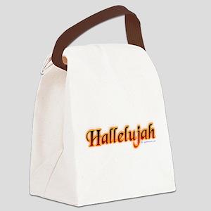 hallelujah_fire Canvas Lunch Bag