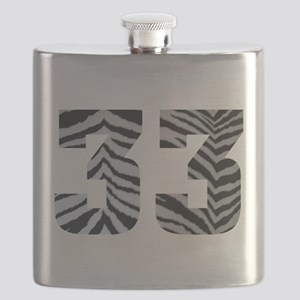 33 ZEBRA PRINT Flask
