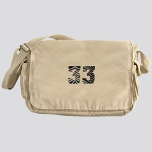 33 ZEBRA PRINT Messenger Bag