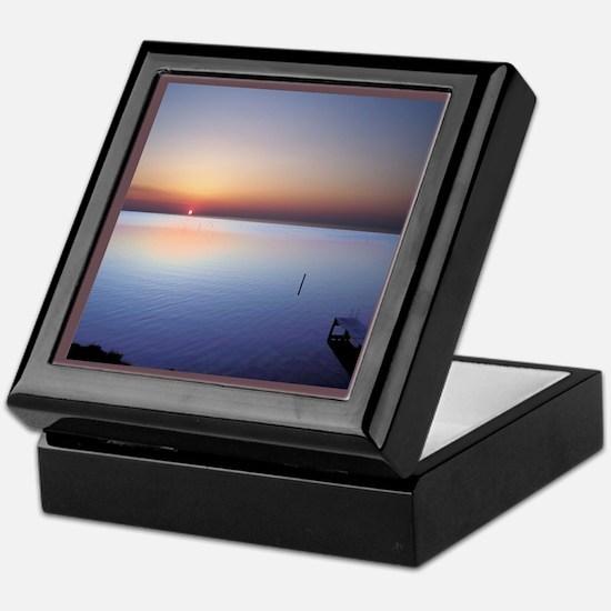 Low Beach Sunset (OBX) Keepsake Box