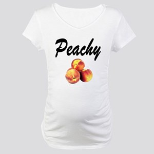 I LOVE PEACHES Maternity T-Shirt