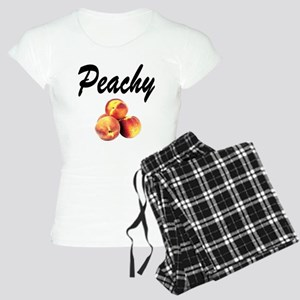 I LOVE PEACHES Women's Light Pajamas