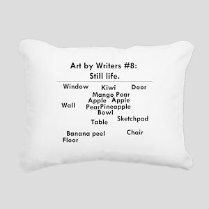 Still Life Rectangular Canvas Pillow