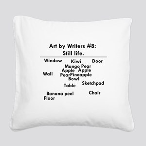 Still Life Square Canvas Pillow