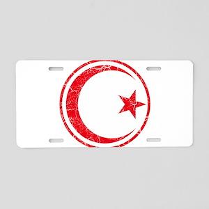 Tunisia Roundel Aluminum License Plate
