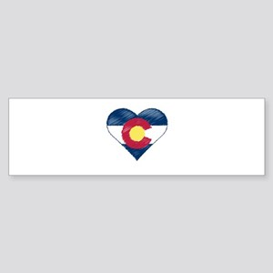 I Love Colorado Sticker (Bumper)