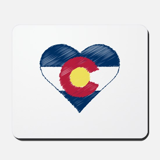 I Love Colorado Mousepad