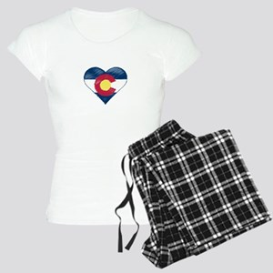 I Love Colorado Women's Light Pajamas