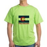 Colorado State Flag Green T-Shirt