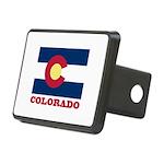 Colorado State Flag Rectangular Hitch Cover