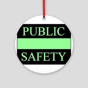 Public Safety Ornament (Round)