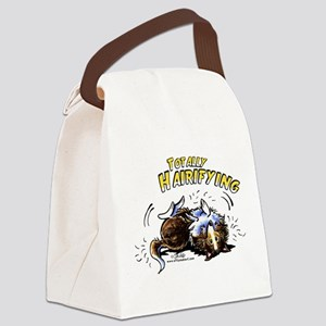 Sheltie Hairifying Canvas Lunch Bag