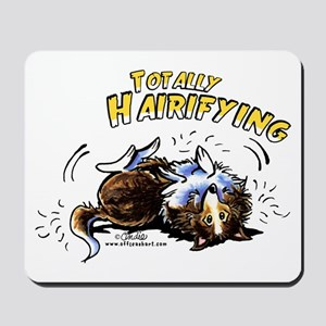 Sheltie Hairifying Mousepad