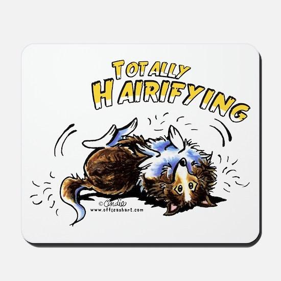 Sheltie Hairifying Mousepad
