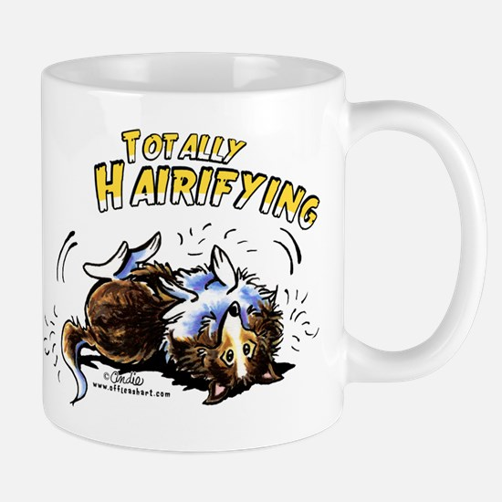 Sheltie Hairifying Mug