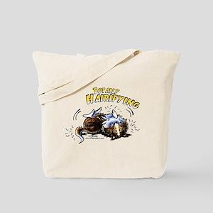 Sheltie Hairifying Tote Bag