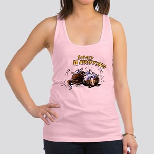 Sheltie Hairifying Racerback Tank Top