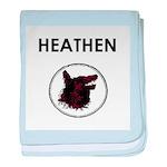Heathen/Wolf baby blanket