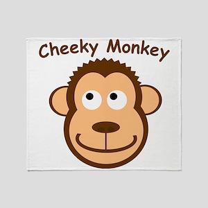 CheekyMonkey Throw Blanket