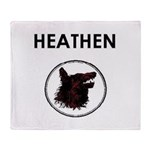 Heathen/Wolf Throw Blanket
