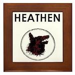 Heathen/Wolf Framed Tile
