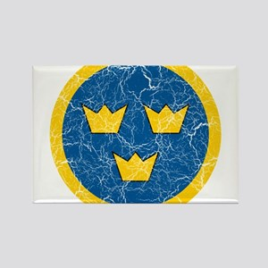 Sweden Roundel Rectangle Magnet