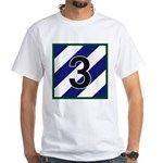 3rd Brigade 3ID White T-Shirt