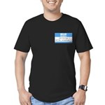 Personalizable SQLi Name Tag Men's Fitted T-Shirt