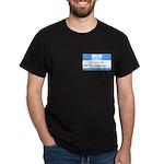 Personalizable SQLi Name Tag Dark T-Shirt