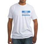 Personalizable SQLi Name Tag Fitted T-Shirt