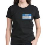Personalizable SQLi Name Tag Women's Dark T-Shirt