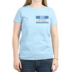 Personalizable SQLi Name Tag Women's Light T-Shirt