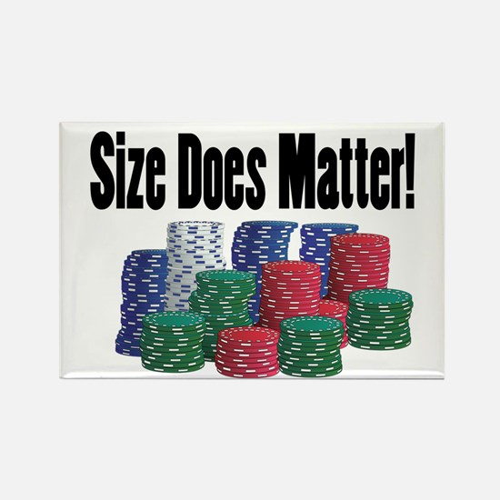 Size Does Matter Rectangle Magnet