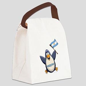 Argentina Penguin Canvas Lunch Bag