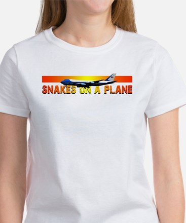 Snakes on a plane Women's T-Shirt